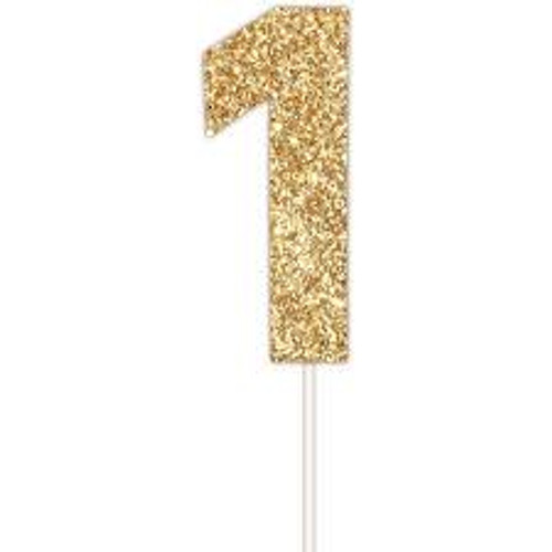 Art Wrap - Number 1 Cake topper Assorted