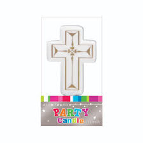Art Wrap - Cross Party Candle