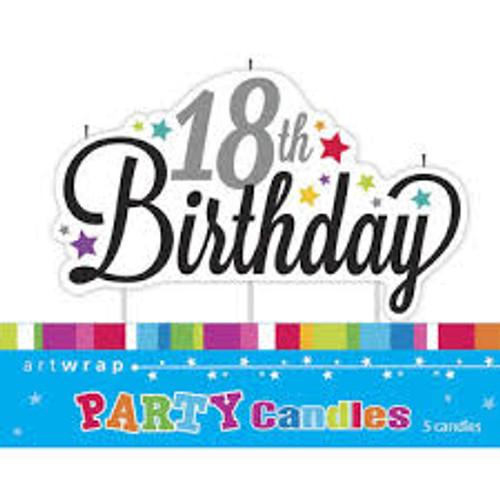 Art Wrap - Birthday Milestone Candles