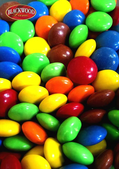 BlackWood Lane - Multicolour Milk Chocolate Gems (100g)