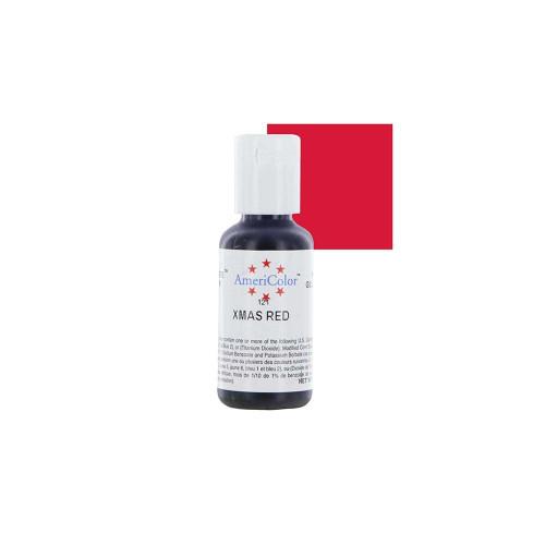 Americolor - Soft Gel Paste  Xmas Red(.75oz)