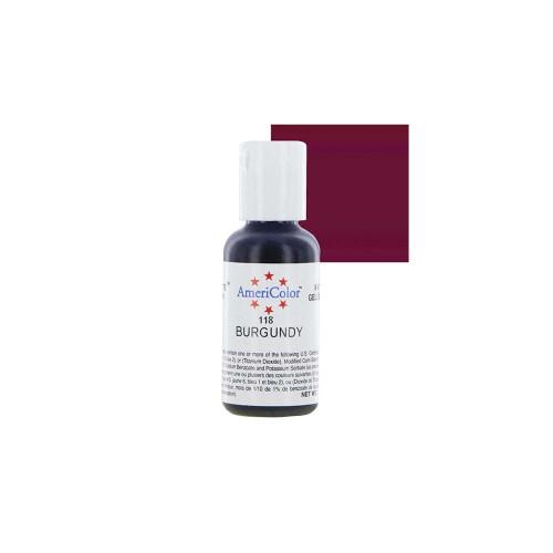 Americolor - Soft Gel Paste Burgundy(.75oz)