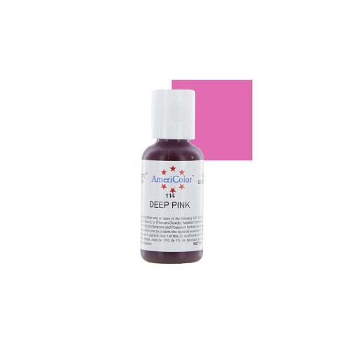 Americolor - Soft Gel Paste Deep Pink(.75oz)