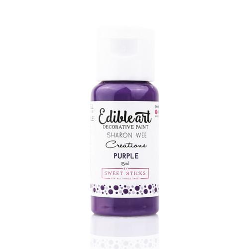 "Sweet Sticks - Edible Art Decorative Paint Sharon Wee Creations ""Purple"""