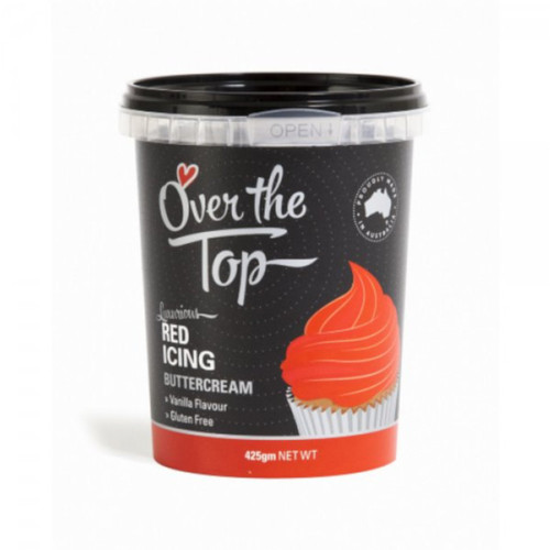 Over The Top - Luxurious Buttercream  Red