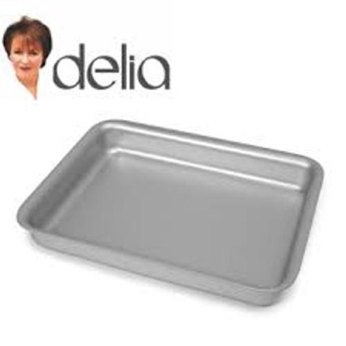 Delia Smith Online Silverwood Oblong Tin 10 inch(26cmx 20cm) (5026048901845)