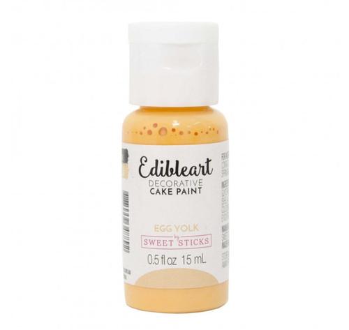 "Sweet Sticks - Edible Art Decorative Paint  ""Egg Yolk"""