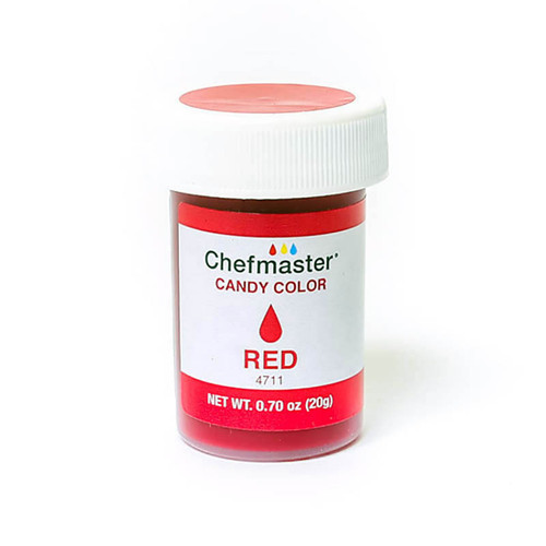 Chefmaster - Candy color red