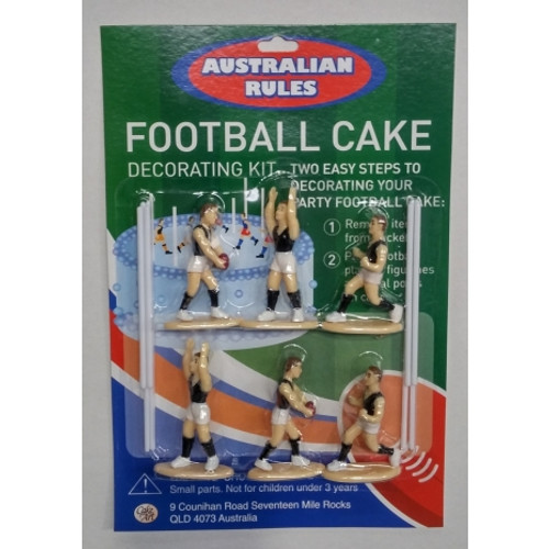 Blackwood Lane - Football Cake Toppers Decorating Kit