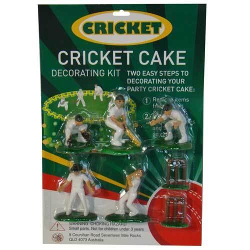 Blackwood Lane - Cricket Cake Toppers Decorating Kit