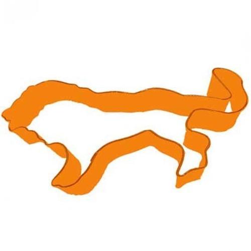 Fox Run- Lion Cookie Cutter (Orange)