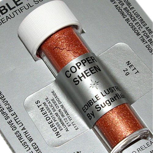 Sugarflair Colours -Edible Lustre   ( Copper Sheen  )