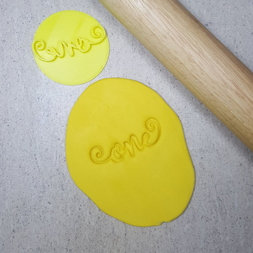 Custom Cookie Cutters - ONE  Embosser  (60mm )