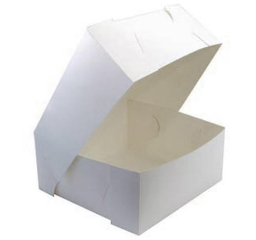 "Cake Box 7 "" x 7"" x 4"" PE Coated"