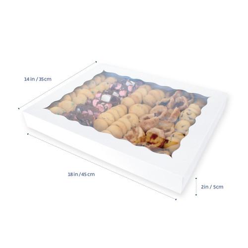 "Loyal  XL Biscuit/ Dessert  Box ( 18"" x 14"" x 2"" )"