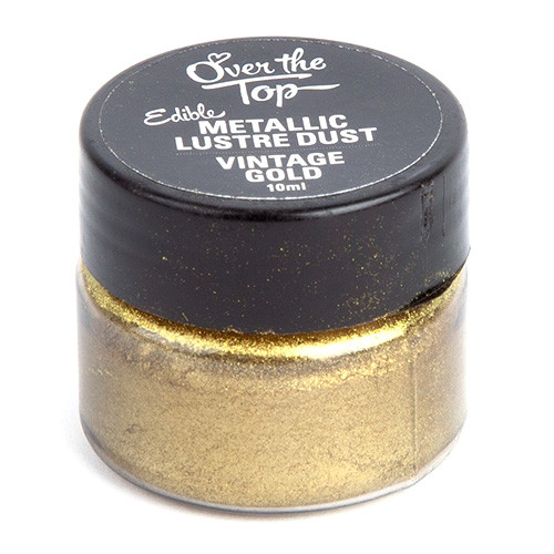 Over The Top -  Vintage Gold  (Lustre Dust)