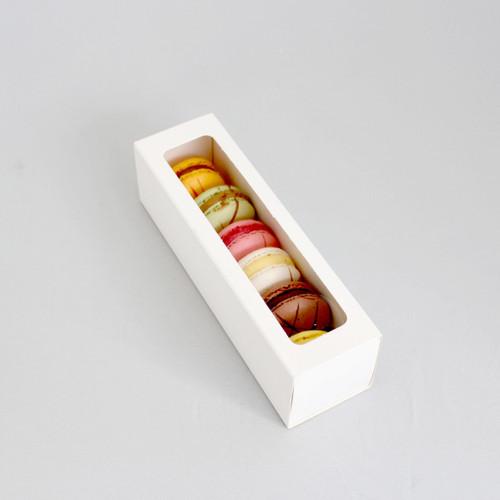 Loyal  Macaron Box  with  window  Lid  -  Holds  6