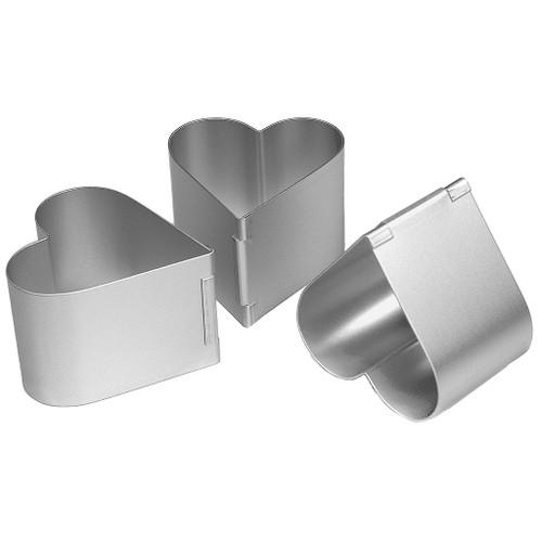 Silverwood - Heart Shaped Former 2 1/2inch (6.35cm)