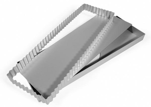 Silverwood - 14 Inch Tranche Tray with flute insert and loose Base (36cm x 12cm)