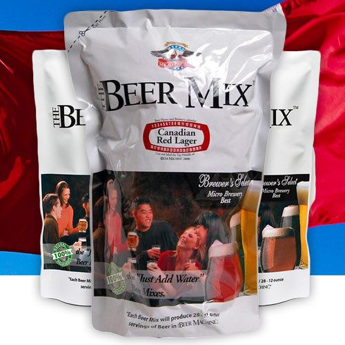 The Beer Machine - Canadian Red Lager Mixer (10L)