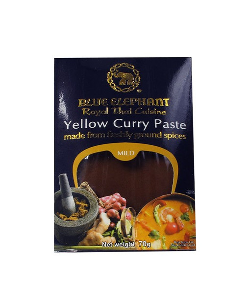 Blue Elephant Curry Paste - Yellow (70g)