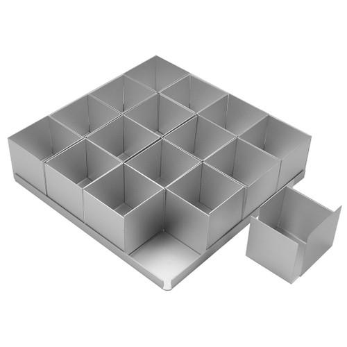 Silverwood - Mini Square Cake Pan Set 36Pcs. (5cm)