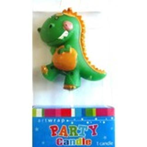Art Wrap - Dinosaur Party Candle