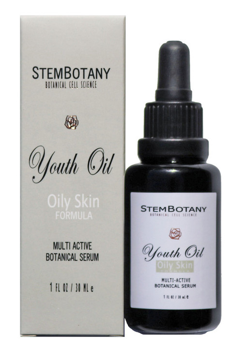 Description NORMAL TO OILY (aka:OIL FOR OILY)  This special oil serum, designed for the oily skin type is blended with 21 of the world's most recognized and most powerful botanical active oils that are effective on acne prone skin, large pore, and blemishes. With STEMBOTANY's exclusive blending formula, it is great on both the oily and the normal skin types. This facial oil for oily skin works amazingly well with the acne, blemishes, Hyper-pigmentation skin. After numerous test on people with problem skin, we are very confident this will work to diminish the problems on your skin within a week of use. Very distinctive, superior quality of these precious certified cold pressed organic oils are blended to not just normalize the problems on skin, but it also works fabulous in bringing the youth and resilience back to tired and aging skin. Free of any chemicals whatsoever, your skin is about to be detoxified with only natural, organic botanical oils that truly brings the youth back to your skin cells. All the YOUTH OIL serums have Hazelnut oil and Sunflower Seed oil, so please DO NOT USE these oil serums if you have a NUT Allergy.  FULL OIL LISTS:  Grape Seed Oil, Jojoba Oil, Hazelnut Oil, Meadowfoam Seed Oil, Squalane, Sunflower Seed Oil, Apricot Seed Oil, Raspberry Seed oil, Tamanu Oil, Sea buckthorne Oil, Black Cumin Seed Oil, Aloe Vera Extract, Sweet Almond Oil, Geranium Essential Oil, Myrrh oil, Pink Grape Fruit Oil, Lavender Oil, Clary Sage Essential Oil, Rosemary Oil, Pachouli Oil, Tea Tree Oil  SIZE: 30 mL / 1 OZ