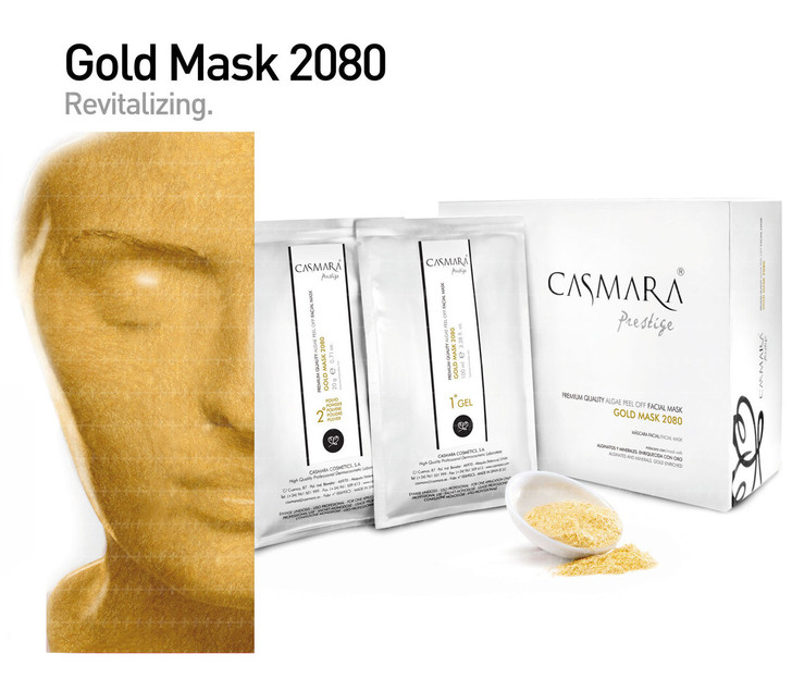 Casmara Gold  Mask 2080 (gold) 10units