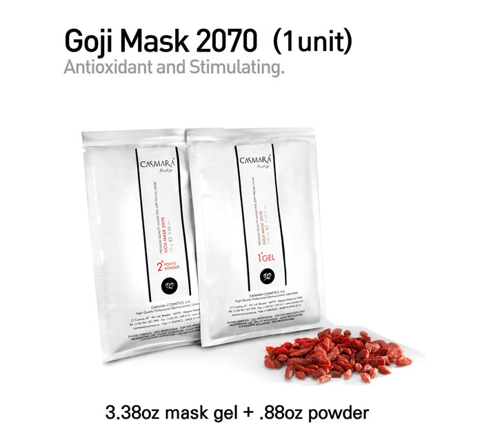 Casmara Gogi Mask 2070 (red) 1unit