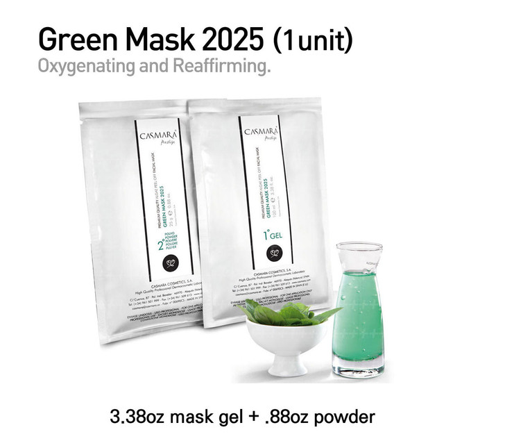 Casmara Green Mask 2025 (green) 1units