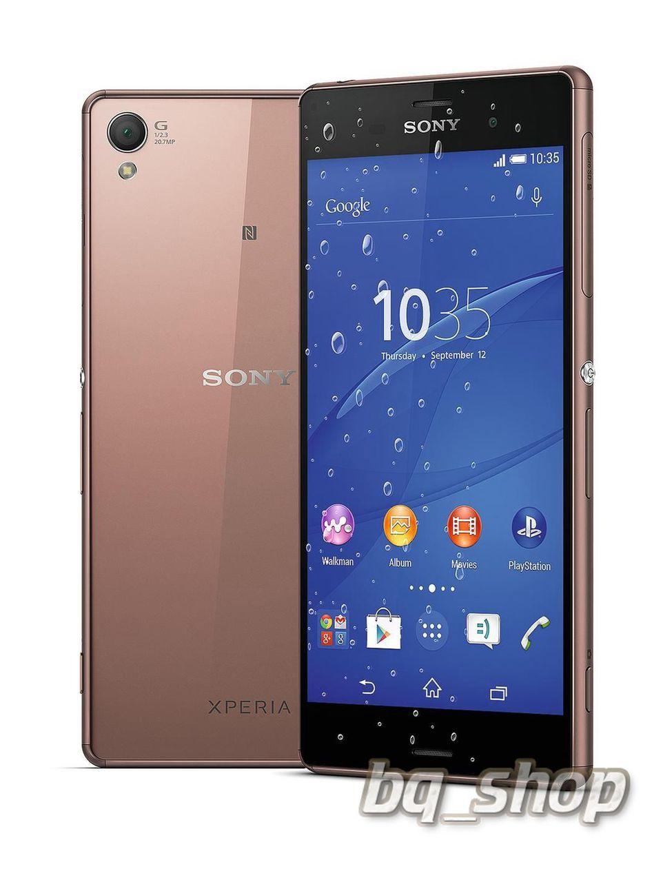 "Sony Xperia Z3 Dual D6683 Copper 5.2""16GB FACTORY UNLOCKED ..."