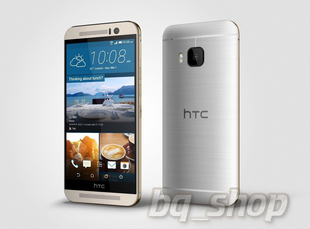 NEW HTC One M9 PLUS M9+ Silver 5 2