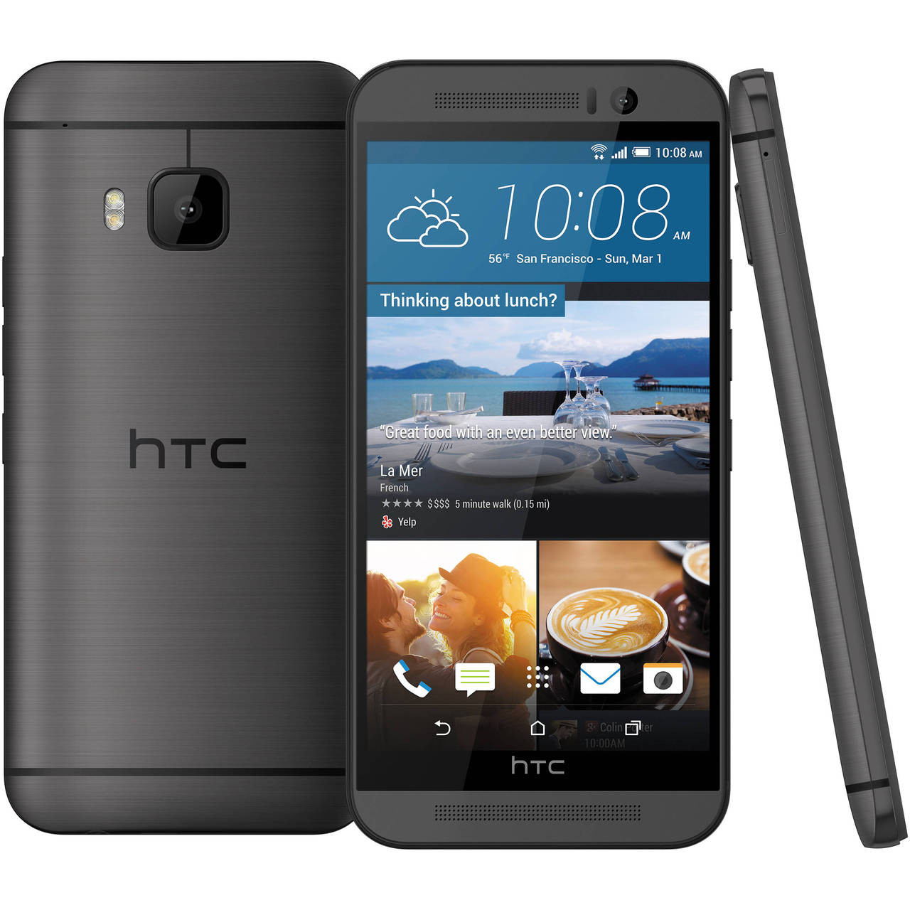 "NEW HTC One M9 PLUS M9+ Gray 5.2"" 32GB Octa-Core 20.7MP Android Phone -  BQSHOP"
