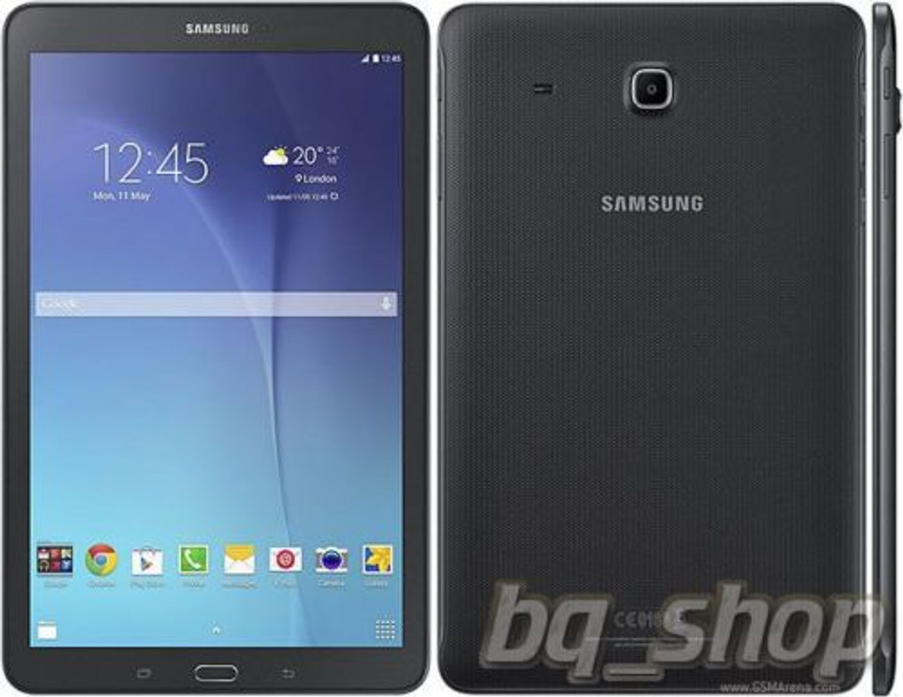 Black Samsung Galaxy Tab E 9.6 16GB WiFi