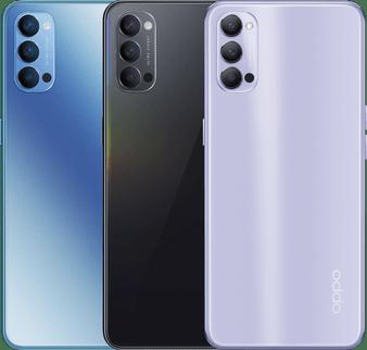 """Oppo Reno 4 5G Dual SIM 6.43"""" 48MP Triple Cameras Octa-core Phone"""