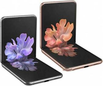 """Samsung Galaxy Z Flip 5G F707 6.7"""" Snapdragon 865+ 8/256GB Phone"""