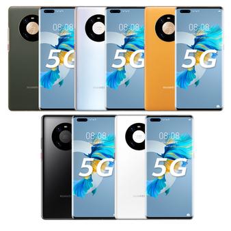 Huawei Mate 40 Pro 5G 8/256GB GLOBAL AOH-NX9 Silver Kirin 9000 Phone