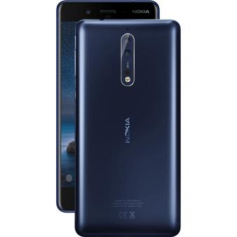 "Nokia 8 Dual SIM 5.3"" 128GB 6GB RAM 13MP Snapdragon 835 Android Phone"
