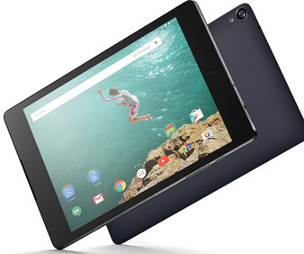 "HTC Nexus 9 16GB BLACK WIFI 8.9"" LCD 8MP Android 5.0 (Lollipop) Tablet"