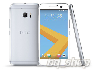 "NEW HTC M10 Silver 5.2"" 64GB Quad-core 12MP 4 GB RAM Android Phone"