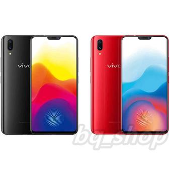 "Vivo X21 UD Screen Fingerprints Black / Red 6.28"" 128GB Android Phone"