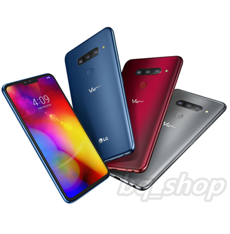 "LG V40 ThinQ Dual Sim 128GB 6GB 6.4"" QHD+ OLED FIVE CAMERAS IP68 Phone By FedEx"