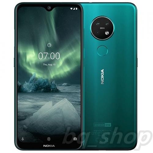 "Nokia 7.2 Dual Sim 6.3"" Cyan Green 128GB/6GB 48MP+5MP+8MP Android SDM660"