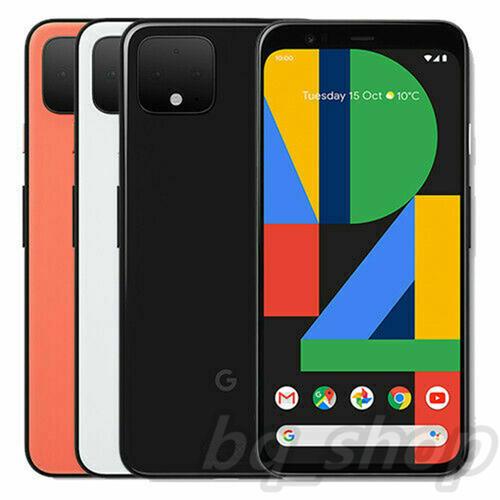 "Google Pixel 4 XL 6.3"" P-OLED 64GB 128GB Octa Core IP68 Android 4G Phone"