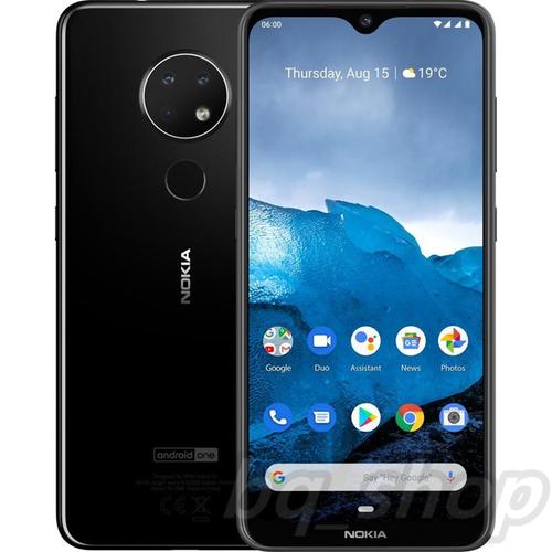 "Nokia 6.2 Dual Sim 6.3"" Black 128GB 64GB Triple 16MP+8MP+5MP Octa-core"