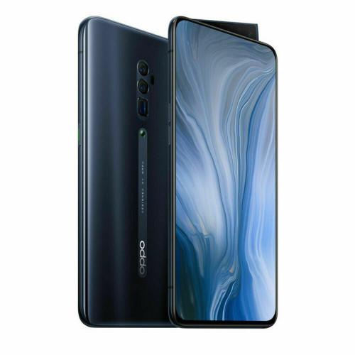 "Oppo Reno 10x zoom 5G Black 6.6"" 256GB Snapdragon 855 50W fast charging"
