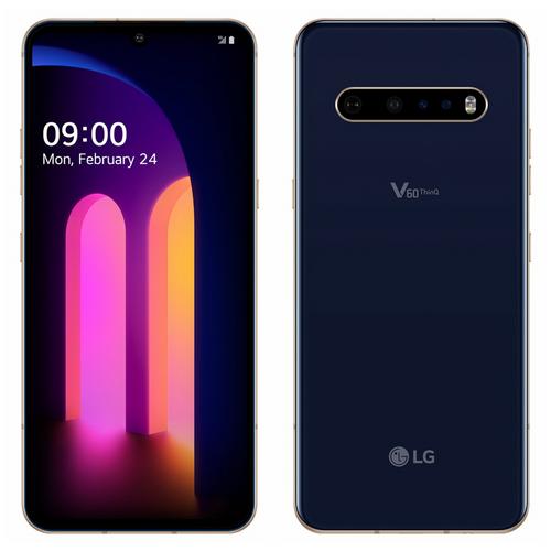 """LG V60 ThinQ 5G LMV600EA 6.8"""" Dual Screen 8/128GB Snapdragon 865 Phone"""