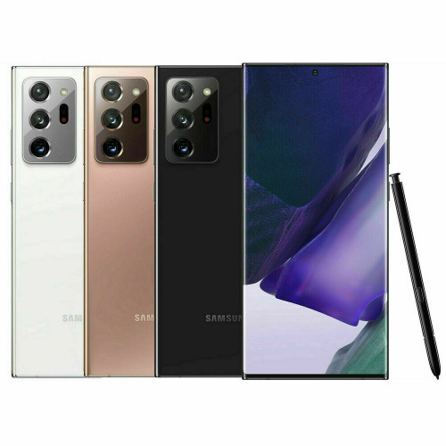 "Samsung Galaxy Note 20 Ultra 5G 6.9"" 256GB 12GB RAM 108MP 4500mAh Phone"