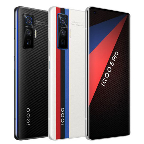 "vivo iQOO 5 Pro 5G 6.56"" 256GB 50MP Android 10 Snapdragon 865 Octa Core"